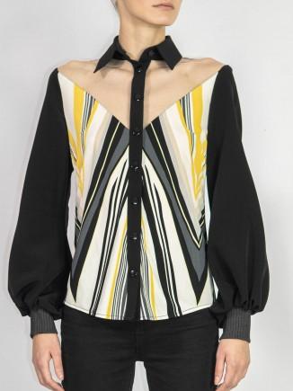 Crafted shirt Olga Mihoc