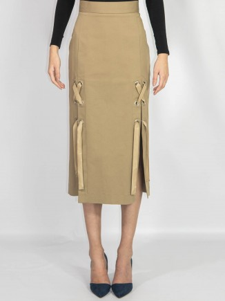 Crafted skirt midi length Ramelle