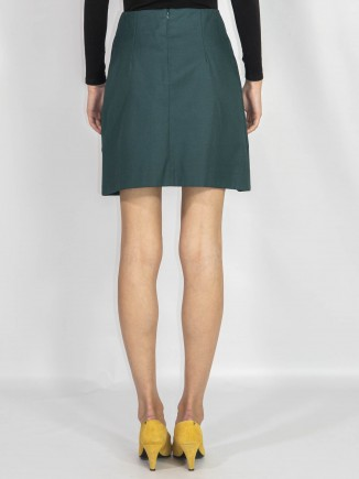 Crafted skirt mini length Ramelle