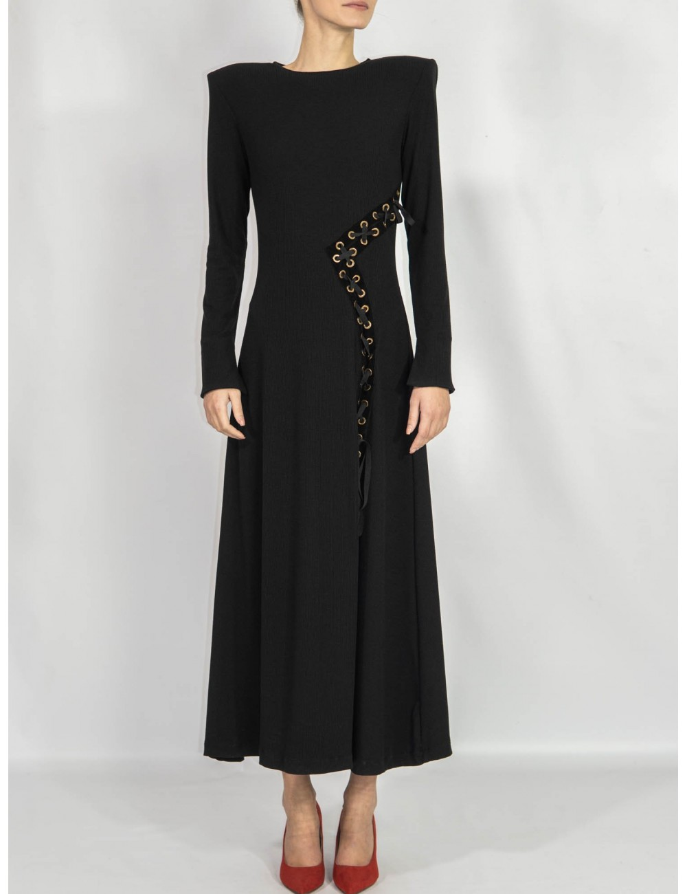 Crafted dress long length Ramelle