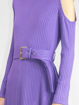 Purple crafted dress Ramelle