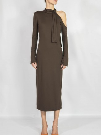 Crafted brown dress Ramelle