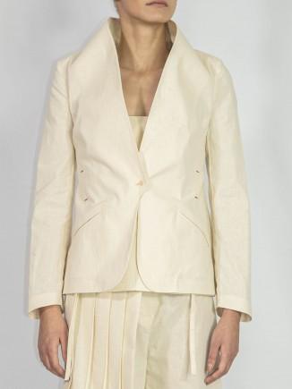 Organic fabrics suit jacket Adriana Goilav