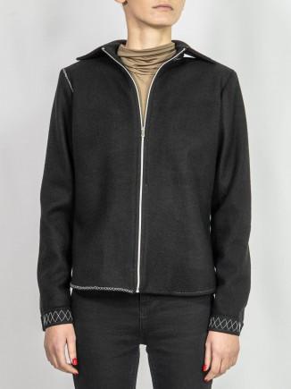 Crafted wool jacket Adriana Goilav