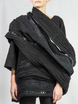 Crafted top & scarf Sabinne
