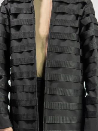 Unique crafted coat Andreea Plesa