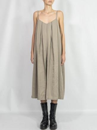 Unique crafted pleated dress Andreea Plesa