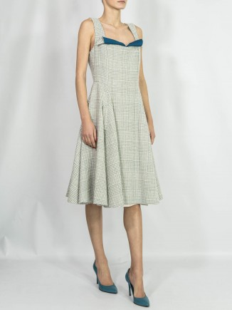 Crafted dress Alina Moza