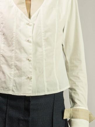 Sustainable crafted shirt Alina Moza