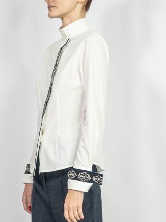 Organic cotton crafted shirt Alina Moza