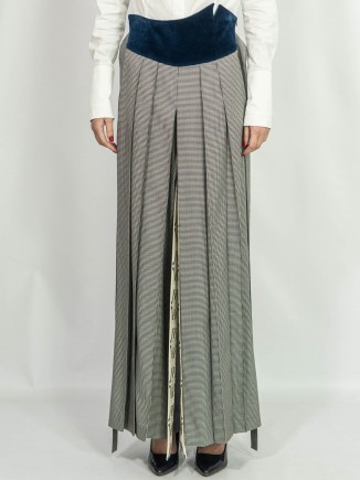 Sustainable crafted trousers Alina Moza