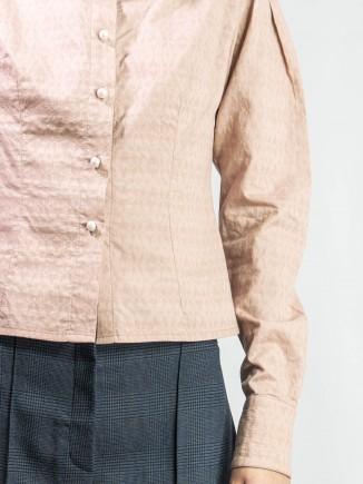Sustainable organic cotton shirt Alina Moza
