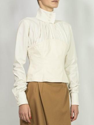 Organic fabrics sustainable shirt Alina Moza