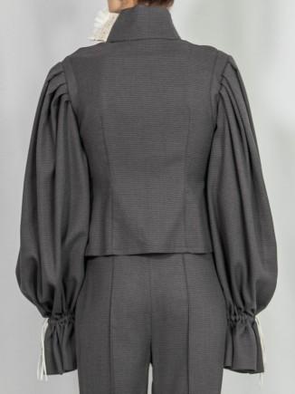 Organic fabrics sustainable blouse Alina Moza