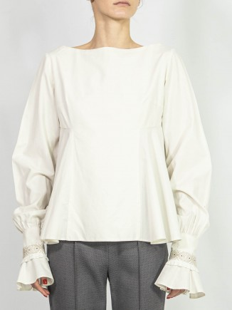 Crafted sustainable blouse Alina Moza
