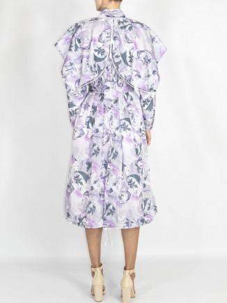 Recycled fabrics coat Cconstantine Renakossy