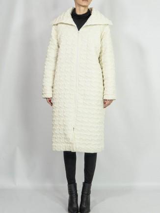 Crafted coat Diana Caramaci
