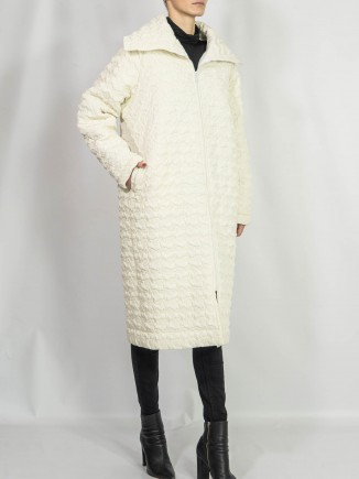 Crafted coat Diana Caramaci
