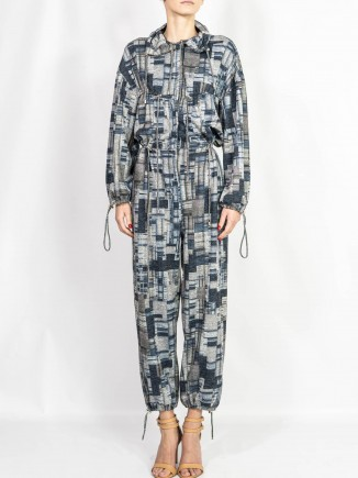 Crafted jumpsuit Diana Caramaci