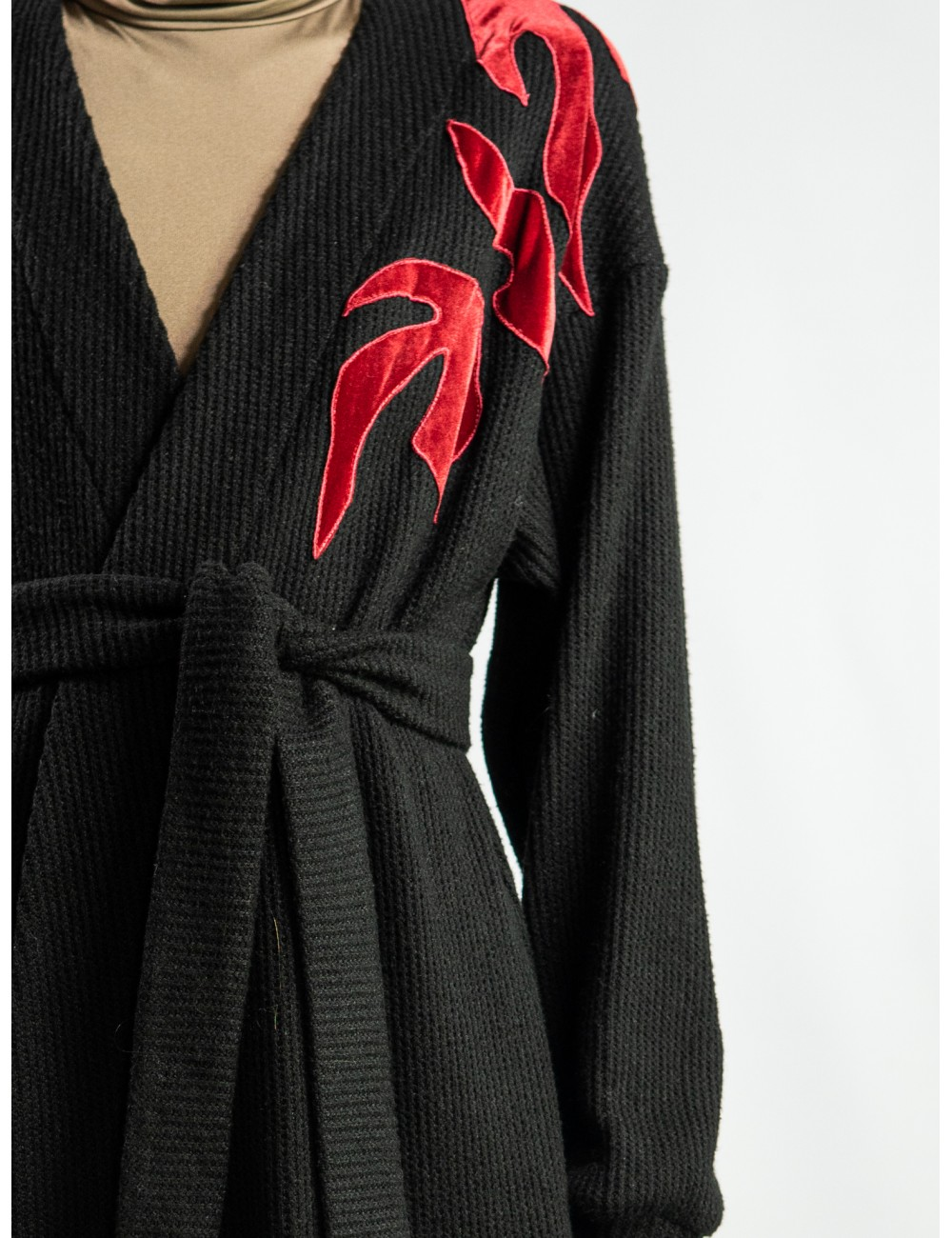 Crafted maxi coat/cardigan...