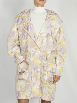 Recycled fabrics ethical coat Constantine Renakossy