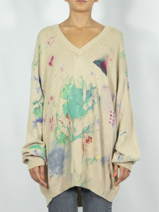 Painted sweater x Mira