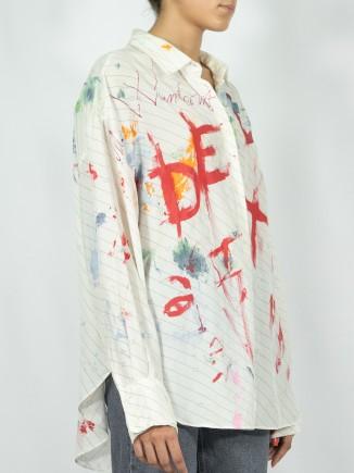 Unique painted shirt x Mira
