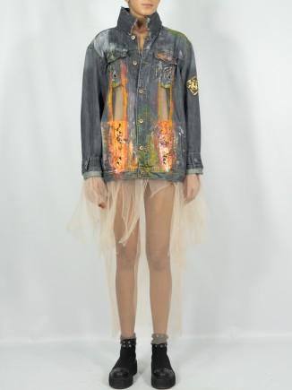 Upcycled jacket x Jacqueline