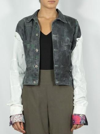 Vintage upcycled jacket x...