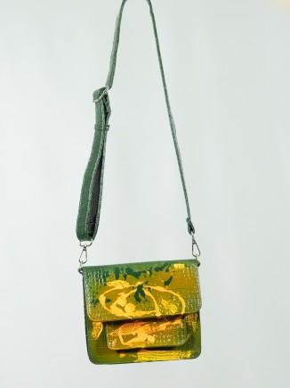 Vintage painted bag x Mira