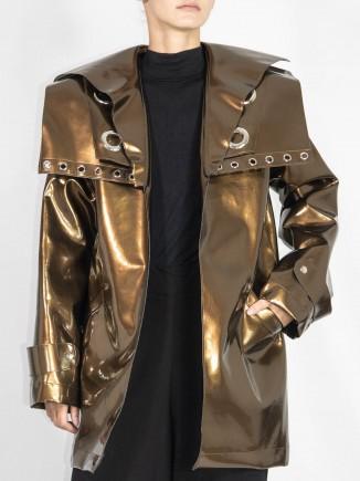 Crafted trench coat Ioana Serban