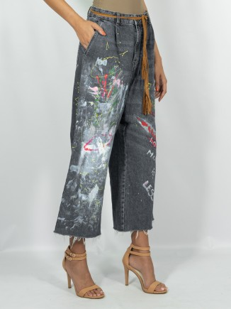 Painted jeans x Mira