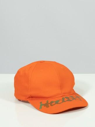 Upcycled orange hat x Mira