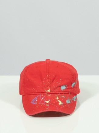 Upcycled red hat x Mira