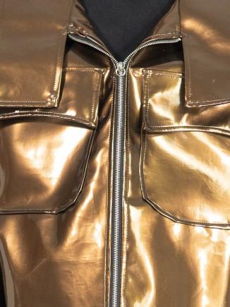 Oversized crafted  jacket Ioana Serban