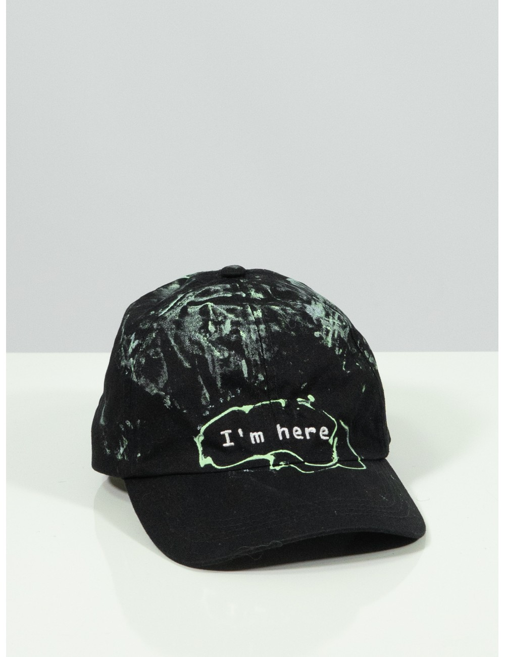 Upcycled black hat x Mira