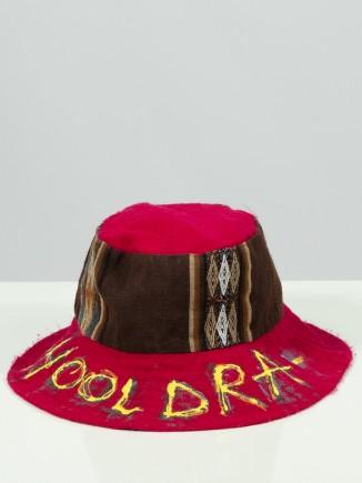 Unique painted bucket hat x...