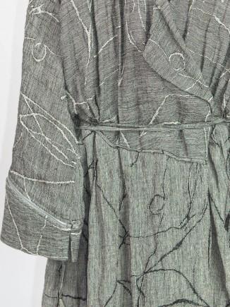 Unique crafted kimono dress Alexandra Todoran