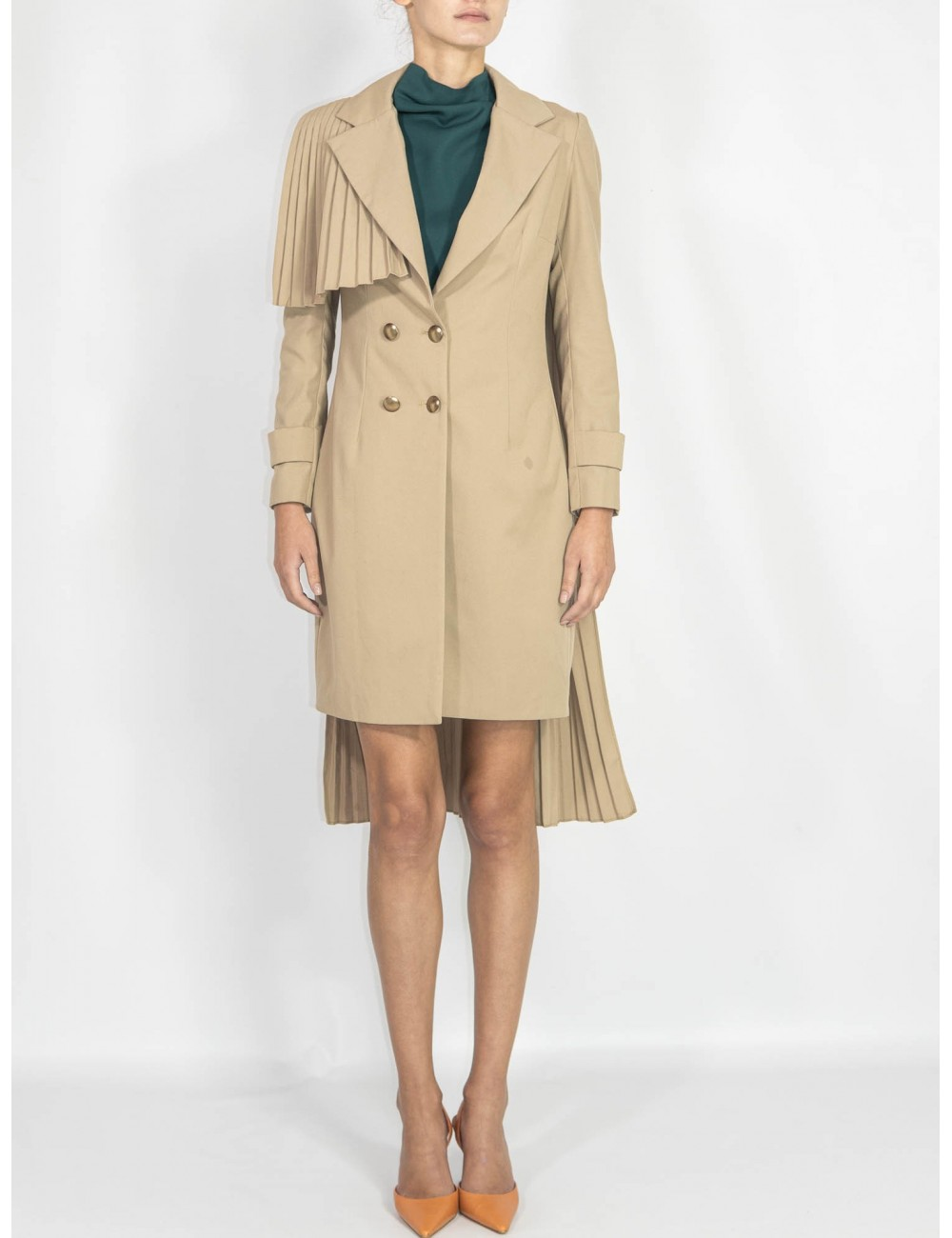 Crafted trench coat Chaotic
