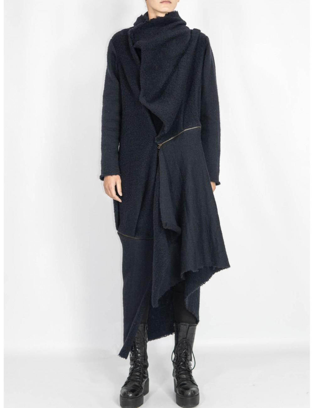 Ethical wool coat Chaotic