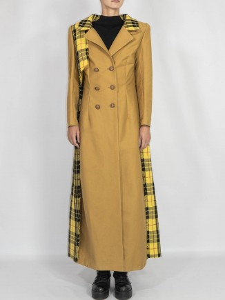 Organic cotton crafted coat Chaotic