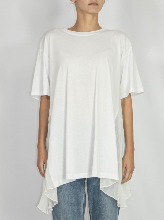 Crafted white T-shirt Chaotic