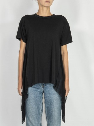 Crafted black T-shirt Chaotic