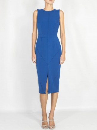 Crafted blue dress Ramelle