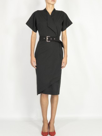 Crafted black dress Ramelle