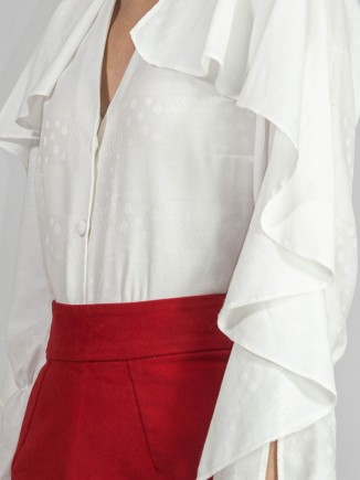 Crafted white shirt Ramelle