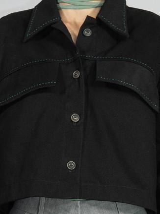 Sustainable crafted shirt/jacket Gnana