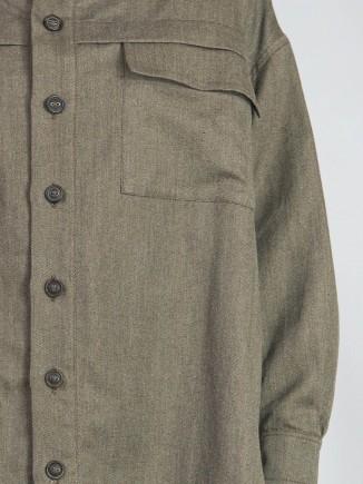 Recycled fabrics sustainable shirt Gnana