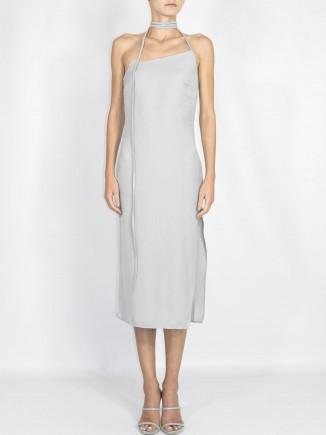 Recycled fabrics sustainable dress Gnana