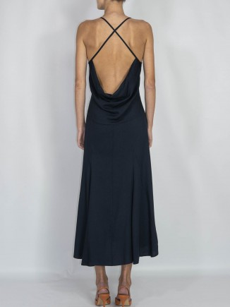 Recycled fabrics sustainable crafted dress Gnana